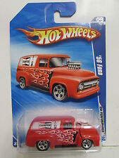 HOT WHEELS 2010 HW PERFORMANCE '56 FORD RED