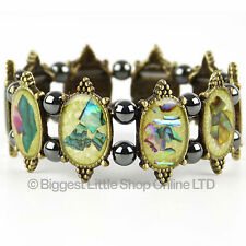 NEUF femmes magnétique hématite bracelet joli Aimant thérapie GRATUIT