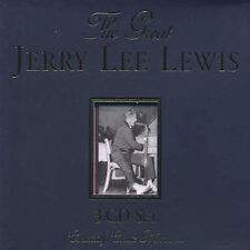 Jerry Lee Lewis - The Great Jerry Lee Lewis [Remaster] (CD, Aug-2000, Red X)