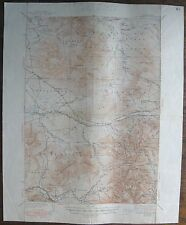 1948 Map MT. WASHINGTON, N.H. Geological Survey 17x21""