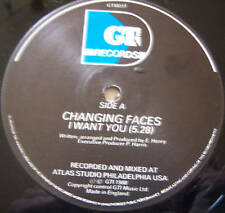 "Changing faces-I WANT YOU ~ 12"" SINGLE"