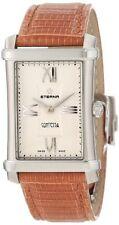 Eterna Women's 2410.41.65.1198 DIAMOND Contessa Two-Hands Leather Watch