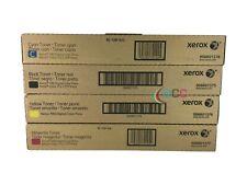 Genuine Xerox 700 J75 C75 TONER SET 6R1375 6R1376 6R1377 6R1378 CYMK .