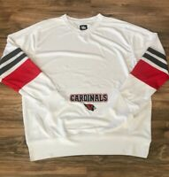 Fan Cloth Men's St Louis Cardinals White/Red/Gray Pullover - Size Large Dri-Fit