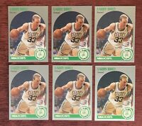 Lot of (6) 1990-91 NBA Hoops LARRY BIRD Base #39 Boston Celtics HOF🔥