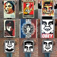 Shepard Fairey Obey Giant Orignal Poster Art Lithograph Signed Edition Print NEW