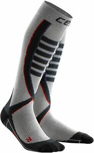 CEP Obstacle Run Men's Compression Socks, Silver - Size III