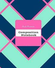 """Composition Book: 7.5"""" X 9.25"""" with 100 Pages by Warehouse, Bookz 9781542324403"""