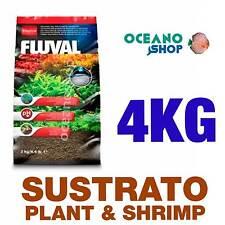 SUSTRATO FLUVAL PLANT & SHRIMP 4kg calidad especial plantas gambario acuario