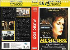 MUSIC BOX - PROVA D'ACCUSA (1989) vhs ex noleggio