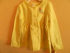 "NWT Oshkosh B'gosh girl yellow dress w/flowers & ""Oshkosh B'gosh 88""; size 3T"