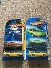 Hot Wheels set of 4 Plymouth Superbird + VERY RARE Plymouth Monopoly Token