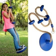 Kids Outdoor Swing Disc Seat Climbing Rope with Platforms Jungle rope Gym Fitnes