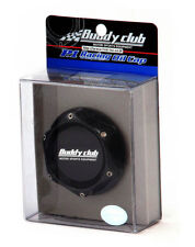 BUDDY CLUB RACING ENGINE OIL FILLER CAP RACE OIL CAP TOYOTA BLACK Y0682