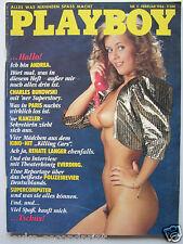 Playboy - D 2/1986, Renate Langer, Andrea Wetzel, Madonna, Prince, Gianna Nanini
