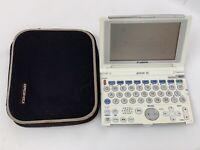 Canon Wordtank V35 PK blue White Electronic Dictionary Japanese Translator #4100