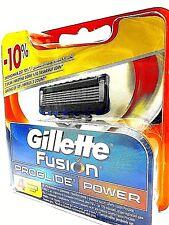 4 Gillette Fusion Proglide Power Rasierklingen, Ersatzklingen inOVP u Original