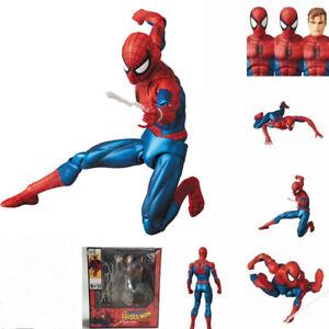 "6"" Marvel Spider-Man Comic Ver Action Figure Toy Birthday Model Gift Boy Set"