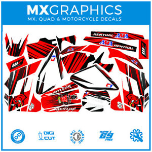 Graphics Decal Motorcycle Wrap Sticker Kits Fits With Gas Gas 02-05 Red(not OEM)