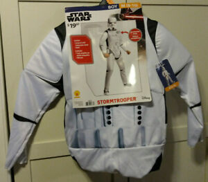 Rubies Star Wars Boy Size M 8-10 Disney Stormtrooper Costume