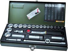 Proxxon 23110 Socket Key Set 3/8 Inch 24-piece