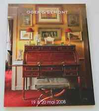 CATALOGUE VENTE 2008 DROUOT COLL AMATEUR APPARTEMENT PARISIEN avec résultats !