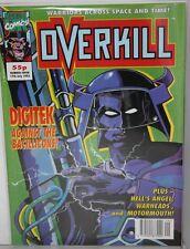 BRITISH MARVEL COMICS OVERKILL # 7 FROM 1992- COM-781