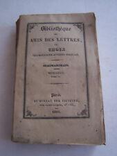 LIVRE ANCIEN POUR COLLECTION , BIBLIOTHEQUE DES AMIS DES LETTRES , BEAUMARCHAIS
