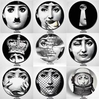 Fornasetti plates lina big eye decorative ceramic Italy wall plate home office 8