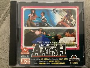 Aatish - RARE MELODY Bollywood Music CD MCD 193