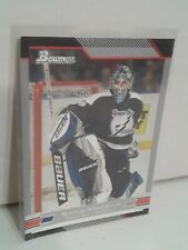 2003-04 Topps Bowman Tampa Bay Lightning Hockey Card #88 Nikolai Khabibulin NHL