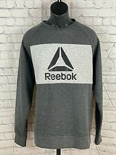 Reebok Men's Chin-Up Crew Neck Sweatshirt (Lrg)