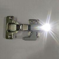 Smart Battery Powered Hinge LED Beam Bedroom Cabinet Cupboard Closet Night Light