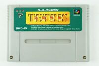 Tetris Battle Gaiden SNES BPS Nintendo Super Famicom From Japan