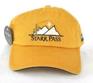 *STARR PASS GOLF CLUB TUSCON ARIZONA* HAT CAP *IMPERIAL* J.W. Marriot Resort