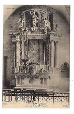 pontorson , le maitre autel