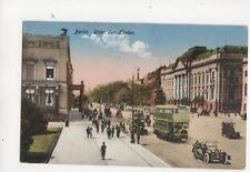 Berlin Under Den Linden Vintage Postcard Germany 084b
