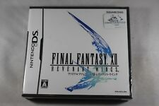 Final Fantasy XII Revenant Wings (Nintendo DS) NEW JAPAN Factory Sealed Import