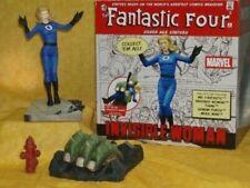 Fantastic Four Invisible Woman Statue Marvel Silver Age F4 Diamond 2005 RARE !!!