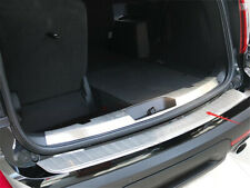 Fits Ford Explorer 11-2015 steel silver Outside Rear Bumper Protector Sill Trim