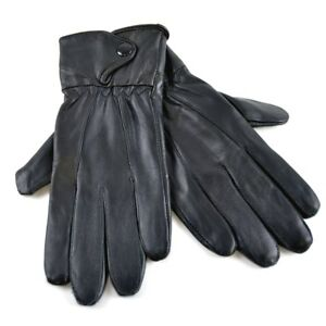 New Women's Tom Franks Soft Supple Fleece Lined Quality Leather Fitted Gloves