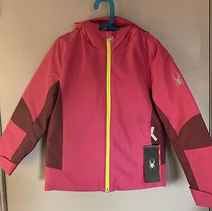 New Spyder Charm Ski/Snow Jacket for girls size S(8)