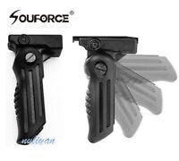 Folding Foregrip Hand Vertical Fore Grip 20mm Picatinny Weaver Rail 4 Rifle Gun