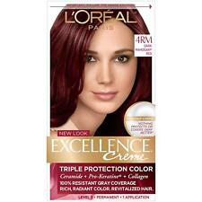 L'Oreal Excellence Creme 4RM Dark Mahogany Red