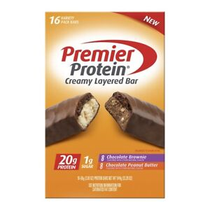 Premier Protein Protein Bar Variety Pack, 16 ct.