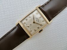 1950 USA Made Mens Lord Elgin 14KGF Manual Wind Wristwatch Cal.670 21 Jewels
