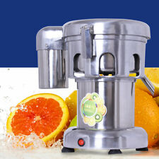 New Listing2800 Rpm Commercial Juice Extractor Stainless Steel Juicer Heavy Duty 80 100kgh