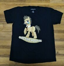 My Little Pony Doctor Hooves T-shirt Navy Blue Mens Size Large