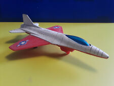 Vntg Collectible Tootsie Toy USAF Fighter Planes Plastic Red White And Blue