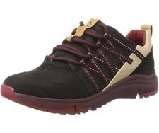 Clarks BNIB Ladies Sneakers Shoes TRI TRAIL Black Interest UK 6.5 / 40